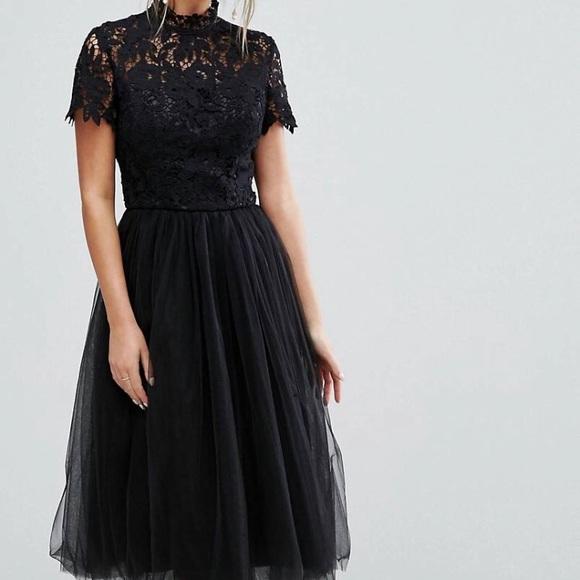 8faa64b1af93 Chi Chi London Dresses | Lace Midi Dress Firm Price | Poshmark
